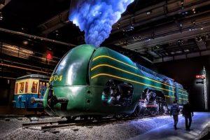 Visite du musée Train World à Bruxelles