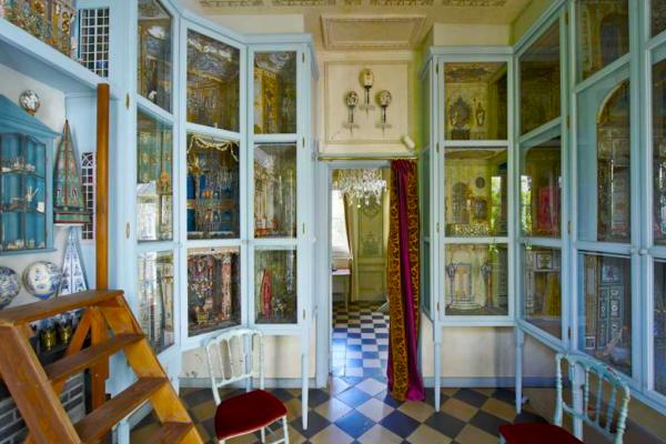 Intérieur de la maison de de Thierry Bosquet - Visite privée de la maison-atelier de Thierry Bosquet - Bravo Discovery