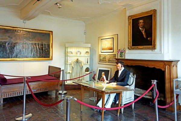Visite du musée Wellington à Waterloo
