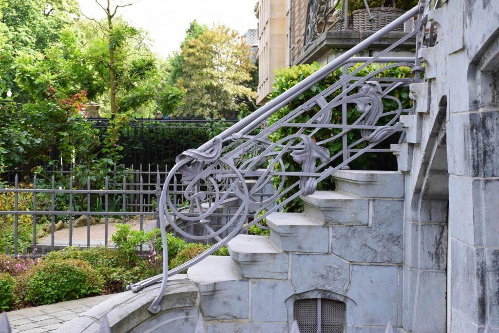 Art Nouveau House - Avenue du General de Gaulle, Ixelles - Ernest Blerot