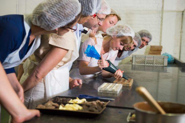 Belgian chocolate workshop in Brussels - Chocolate Workshop