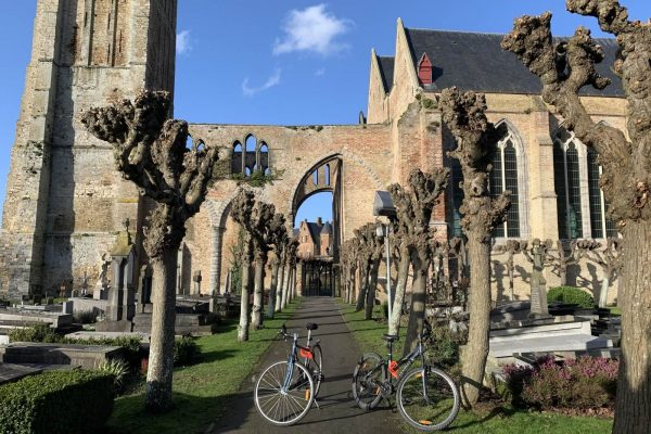 Bike tour to Damme from Bruges - Onze-Lieve-Vrouwekerk (The Church of Our Lady of Damme)