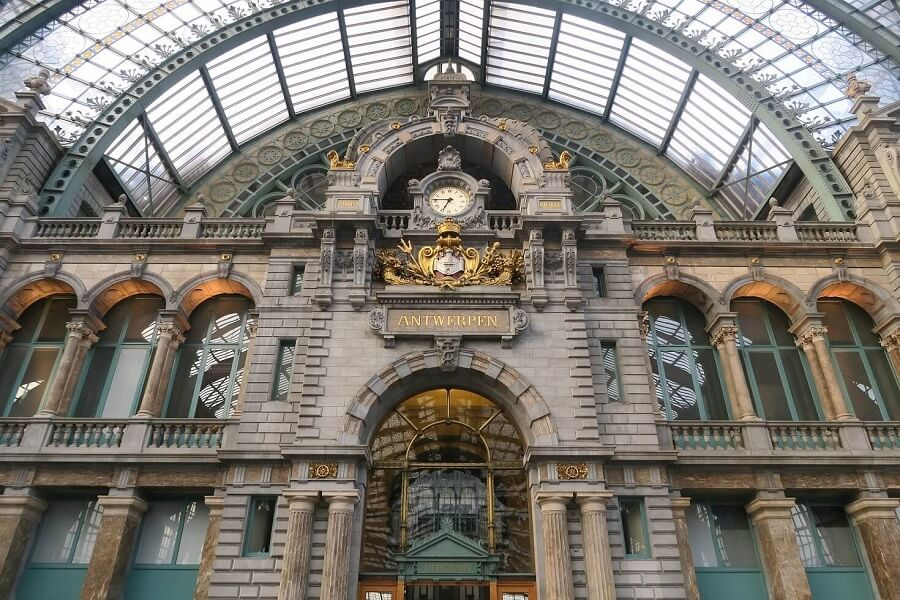 Day trip to Antwerp from Brussels - Central Station