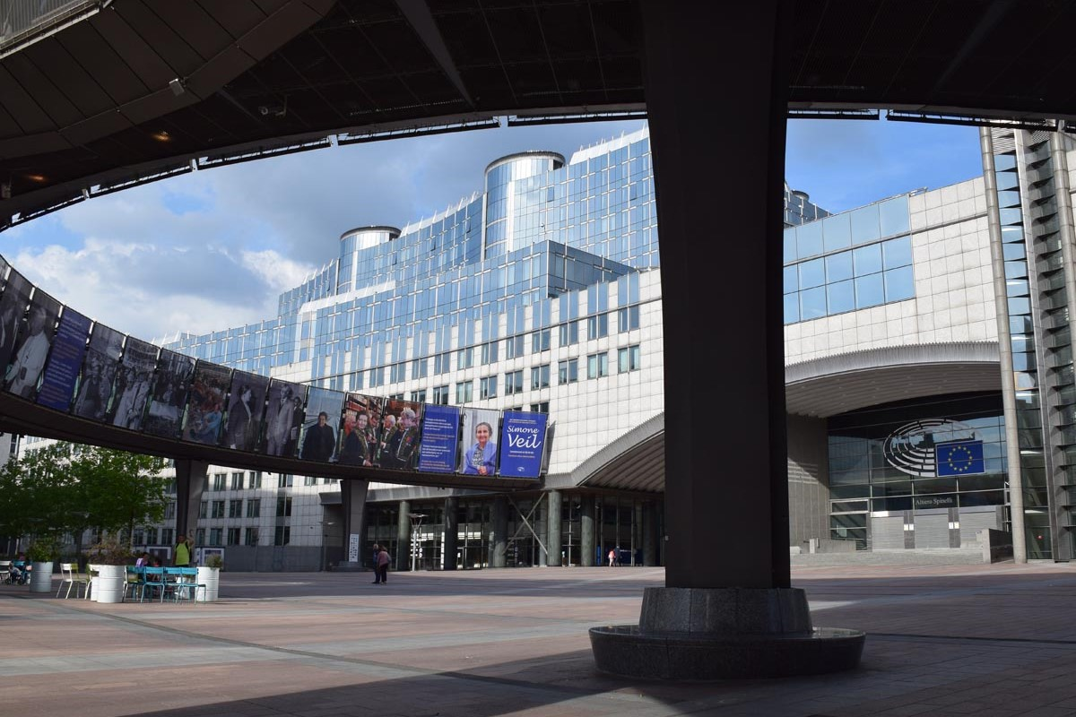 The European Parliament - Free tour of the European quarter in Brussels