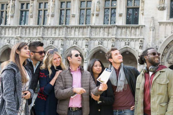 Guided tour of the Grand Place of Brussels - Private tour of Brussels.