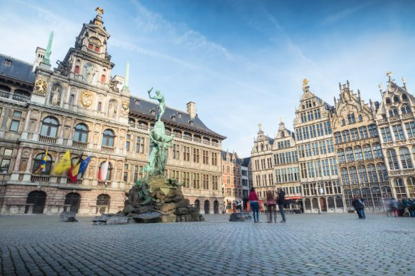 Private tour from Brussels to Antwerp - Grote Markt Antwerp