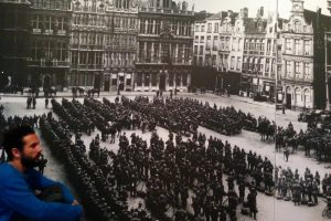 The Grand-Place of Brussels during the war 14-18