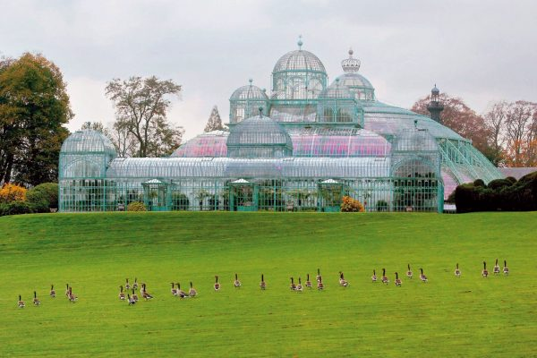 Brussels Royal Greenhouses - Free tour of the European Quarter and the Atomium of Brussels